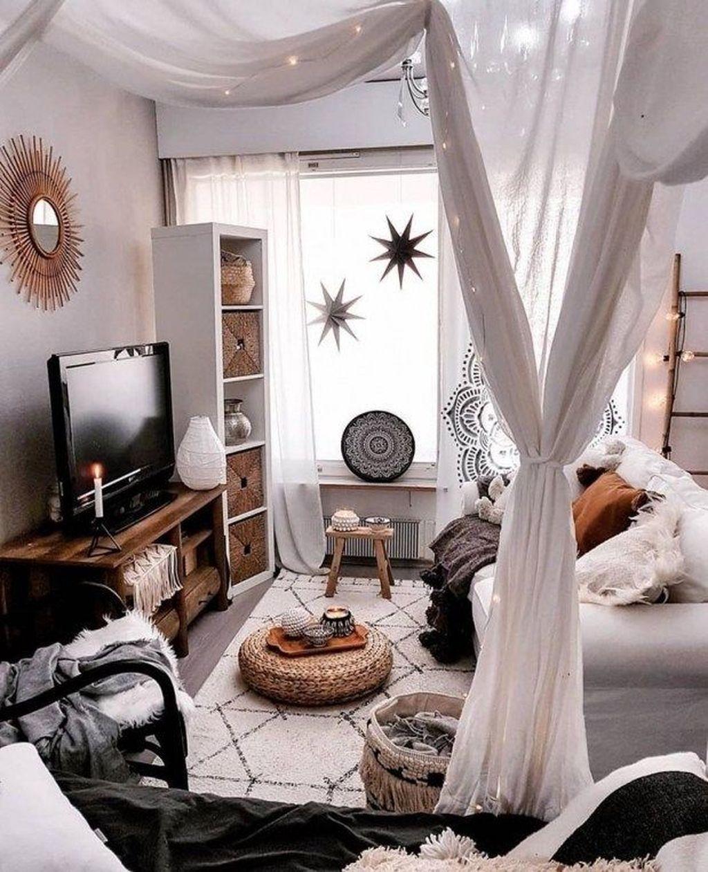 34 The Best Rustic Bohemian Living Room Decor Ideas ... on Bohemian Living Room Decor Ideas  id=98527