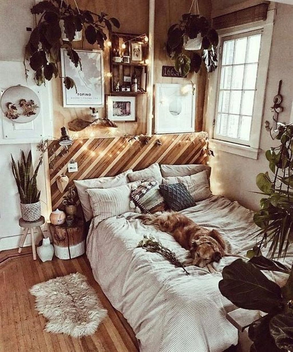 The Best Rustic Bohemian Living Room Decor Ideas 13