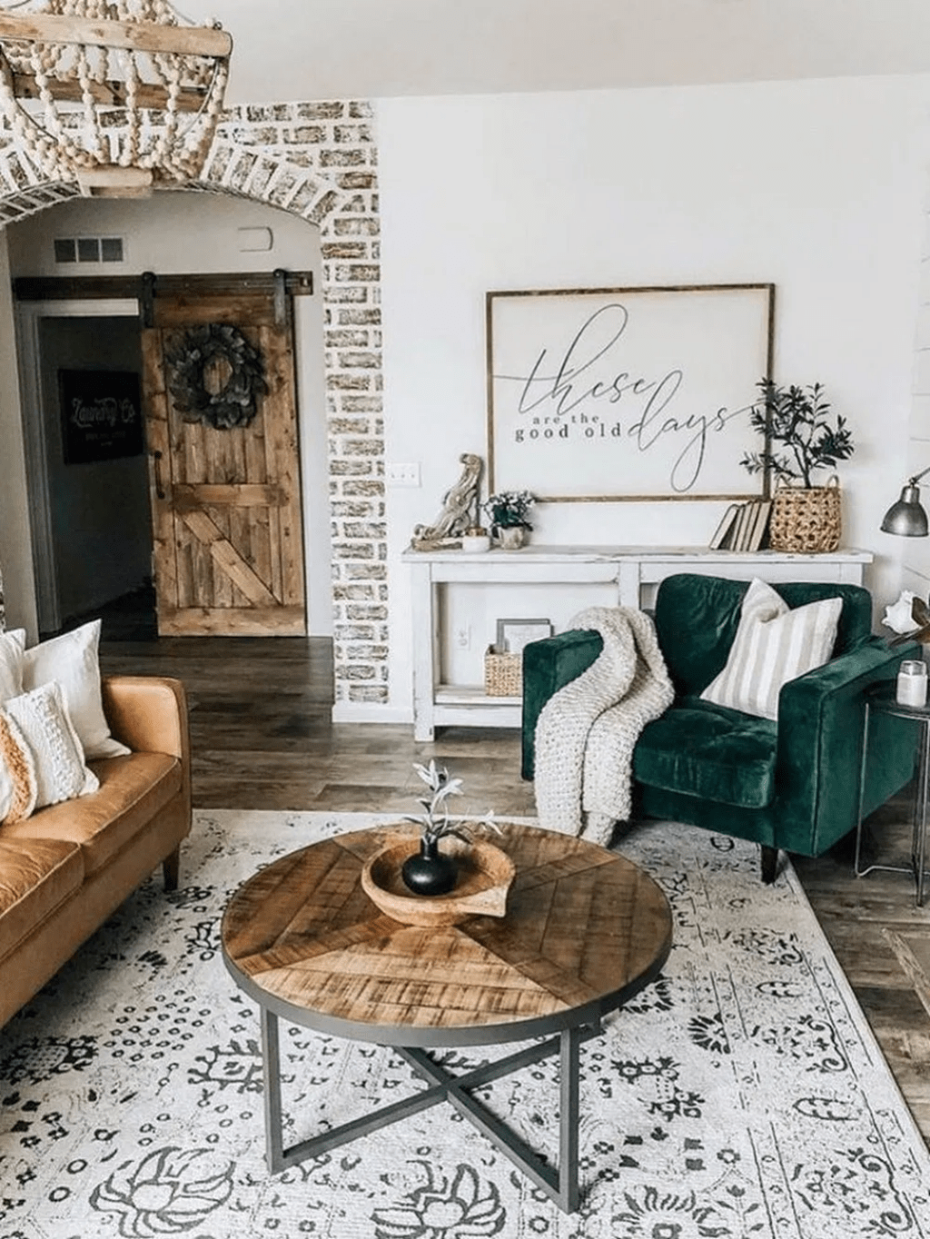 The Best Rustic Bohemian Living Room Decor Ideas 22