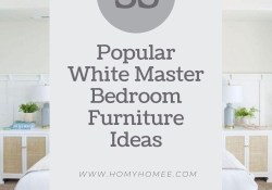 35 Popular White Master Bedroom Furniture Ideas