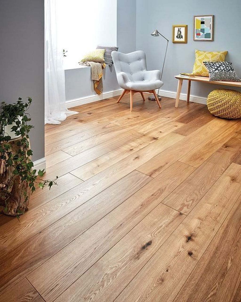 Amazing Bamboo Flooring Ideas For Living Room 14