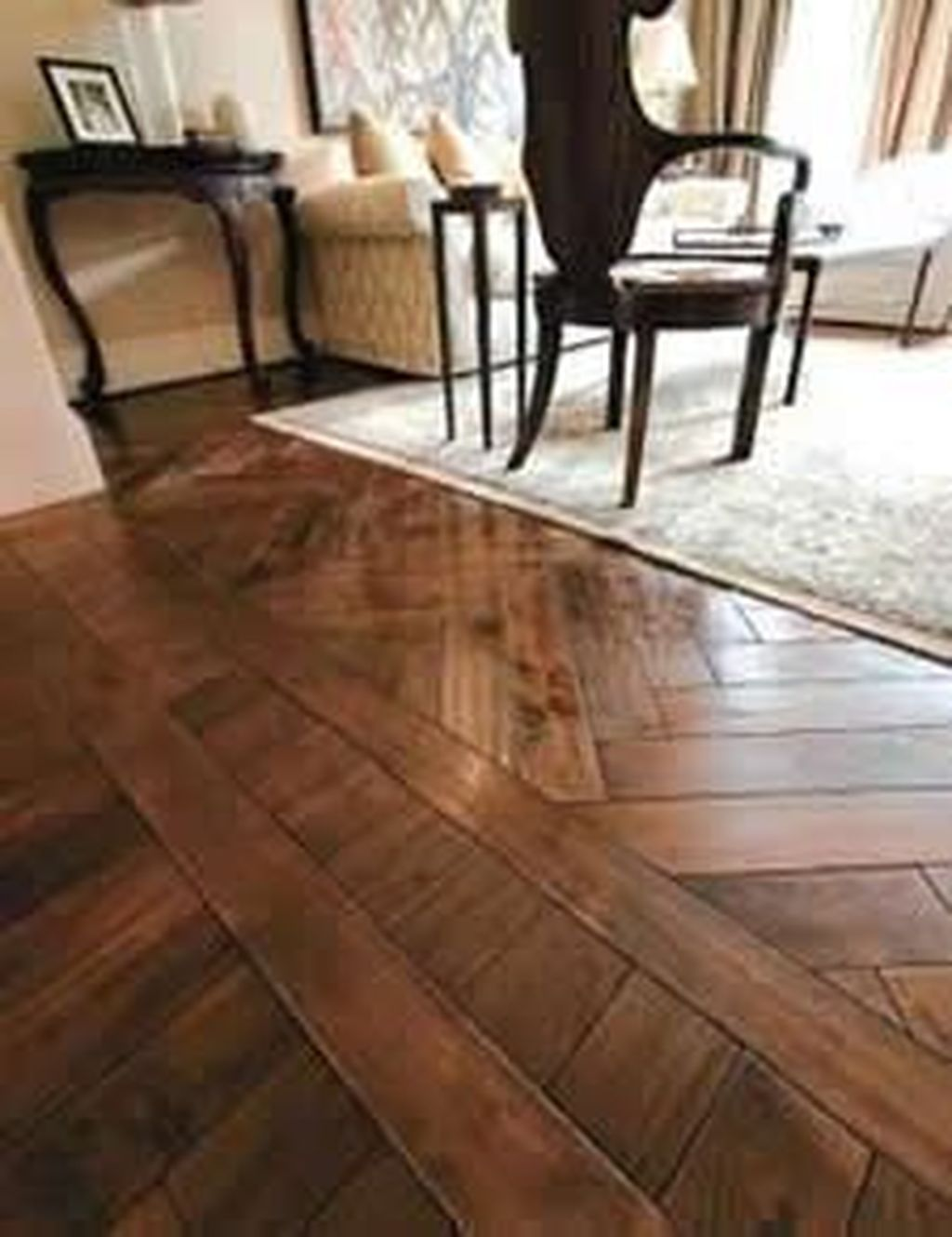 Amazing Bamboo Flooring Ideas For Living Room 15