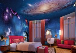 Fabulous Sky Bedroom Theme Decoration Ideas 01