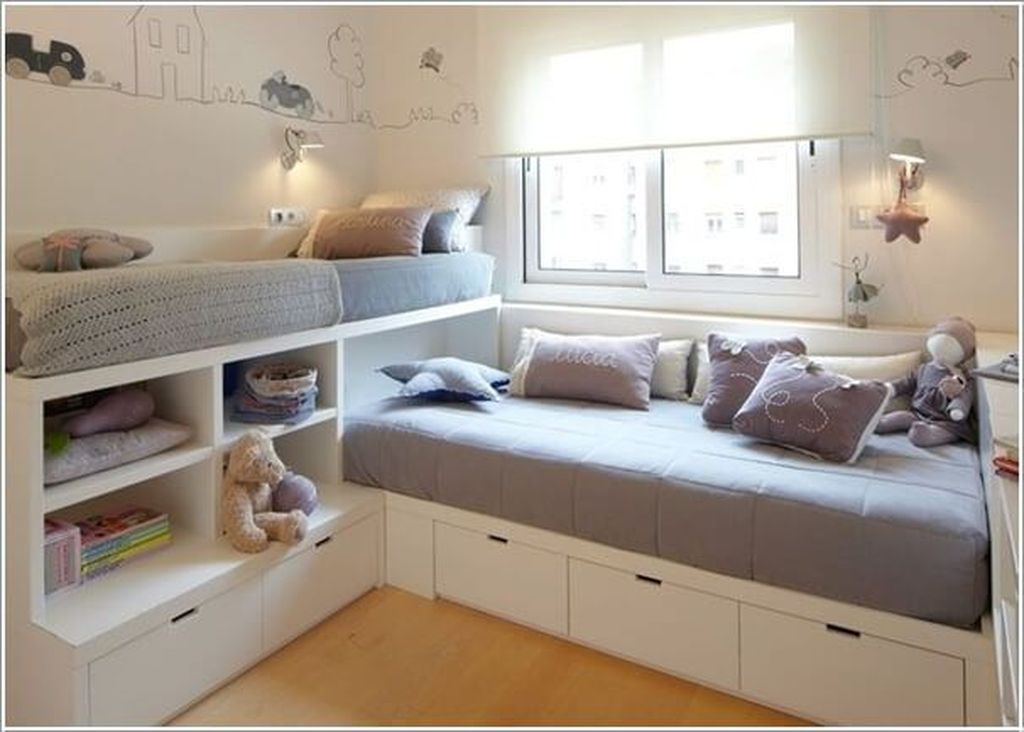 Fascinating Bunk Beds Design Ideas For Small Room 07