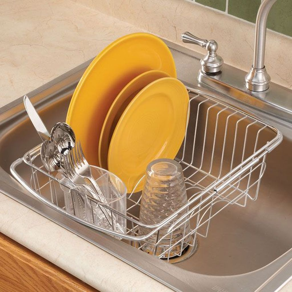 Inspiring Dish Rack Ideas For Your Kitchen 15