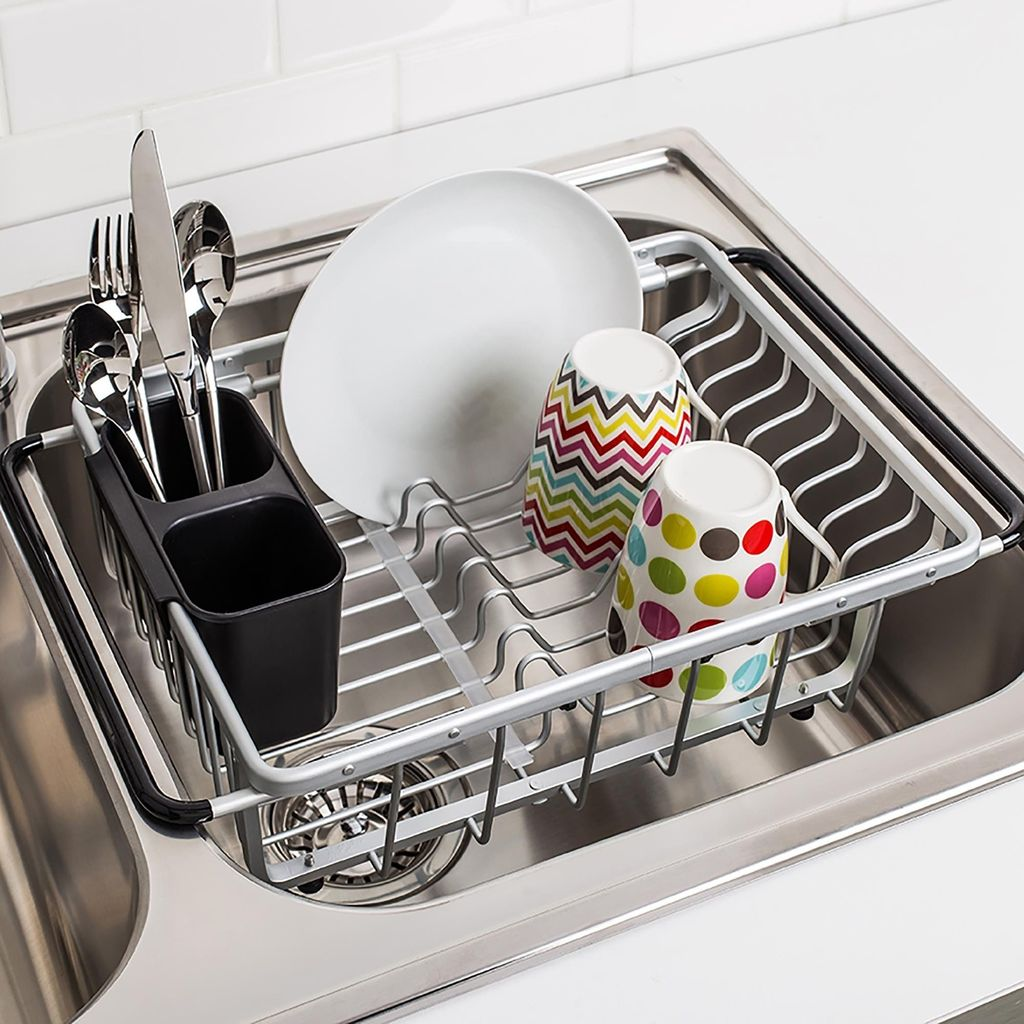 Inspiring Dish Rack Ideas For Your Kitchen 19