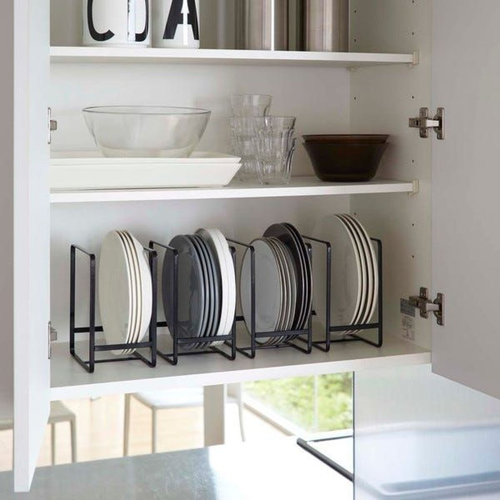 Inspiring Dish Rack Ideas For Your Kitchen 25