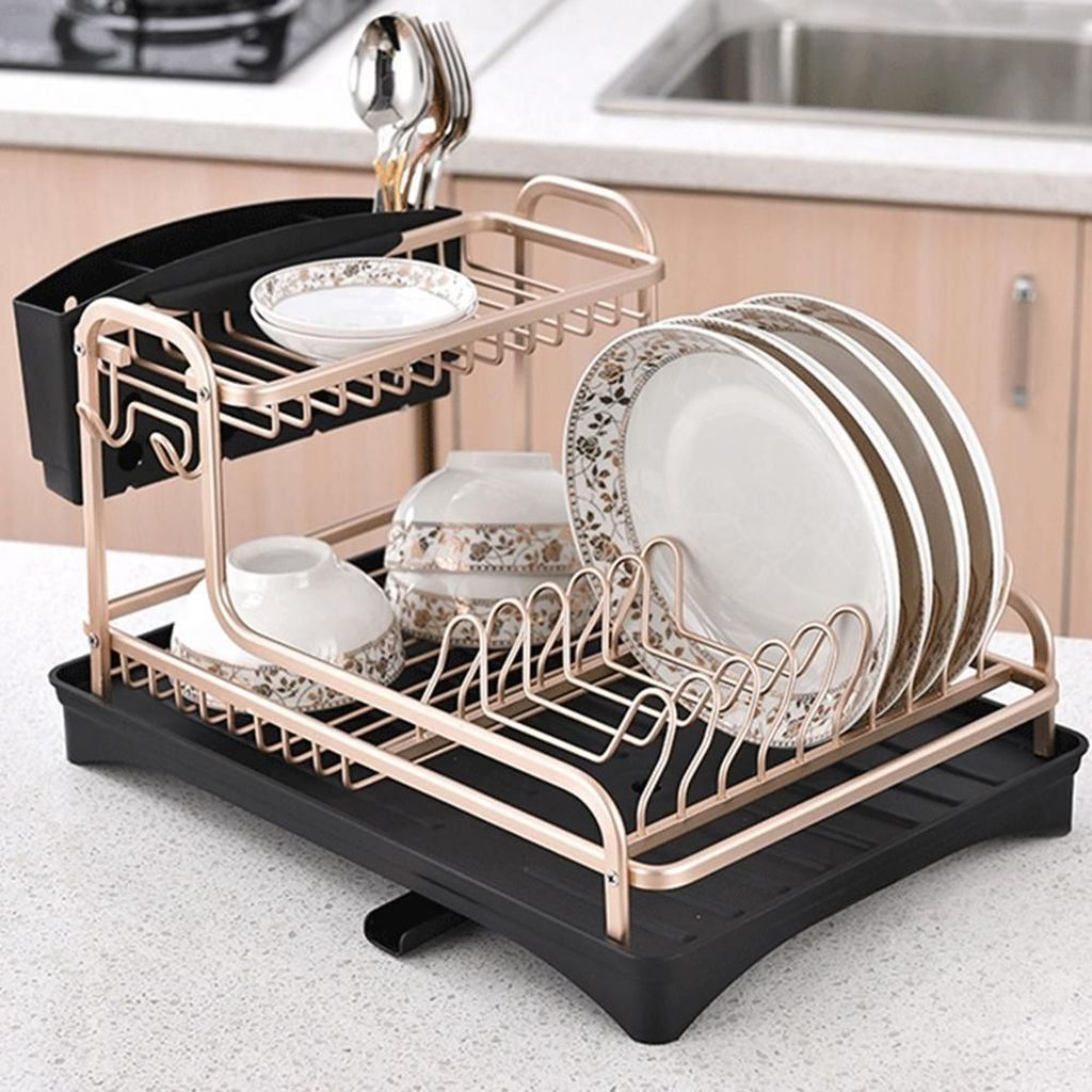 Inspiring Dish Rack Ideas For Your Kitchen 29