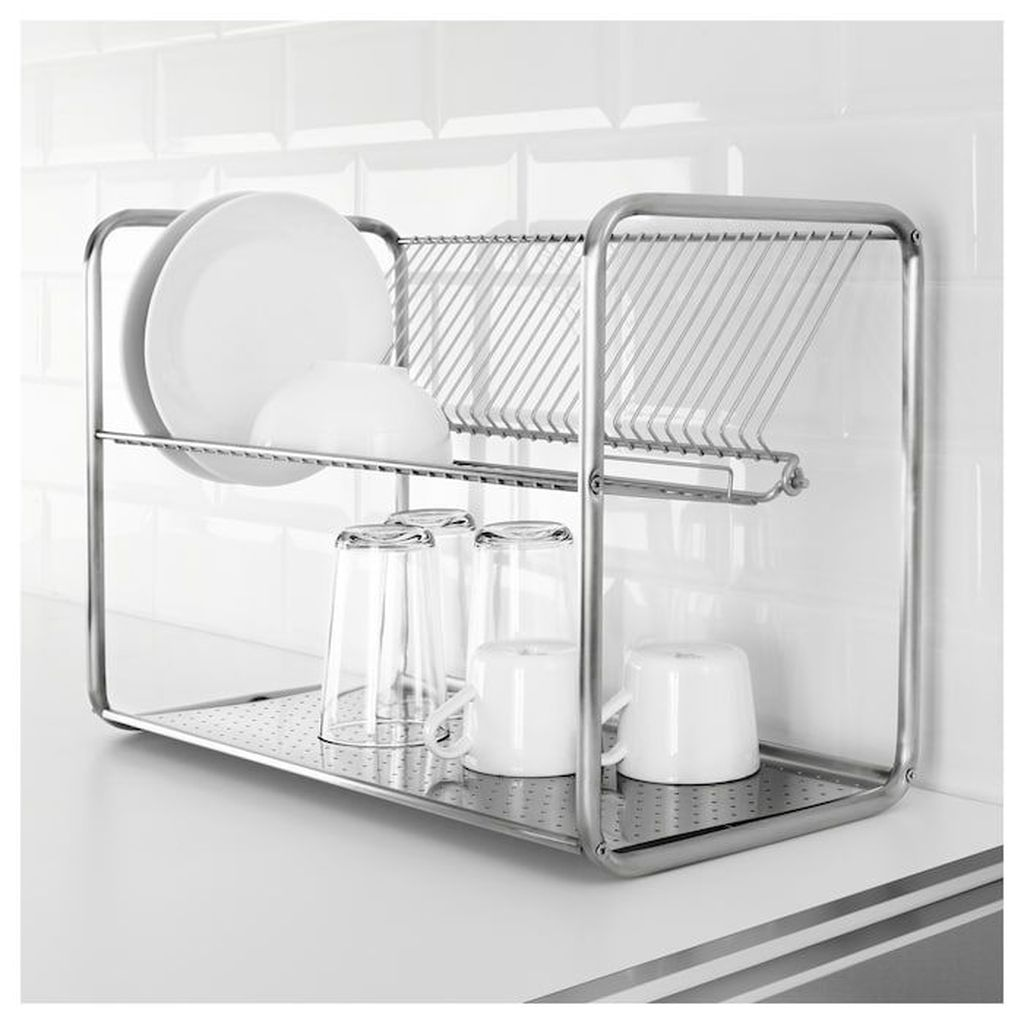 Inspiring Dish Rack Ideas For Your Kitchen 30