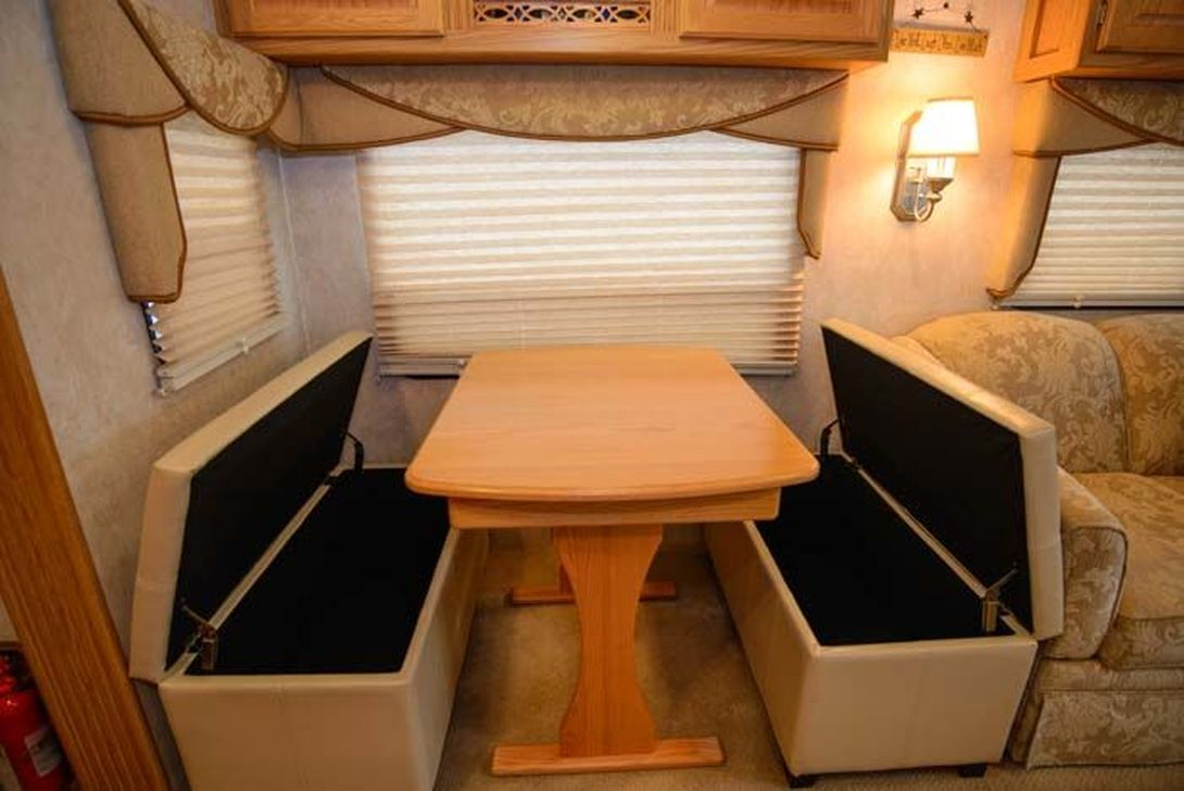 Inspiring RV Storage Ideas Travel Trailers 01