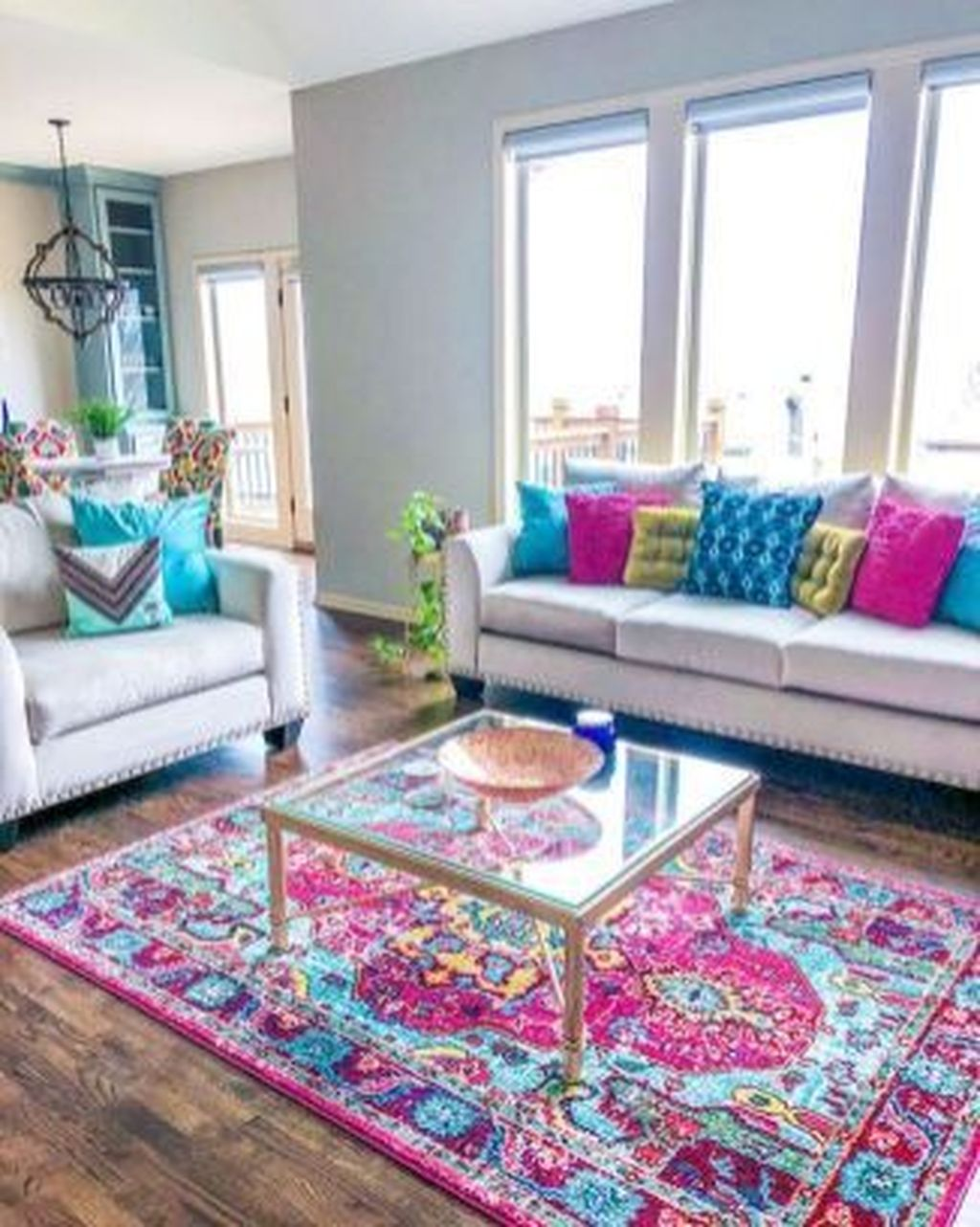 Lovely Colorful Living Room Ideas 08