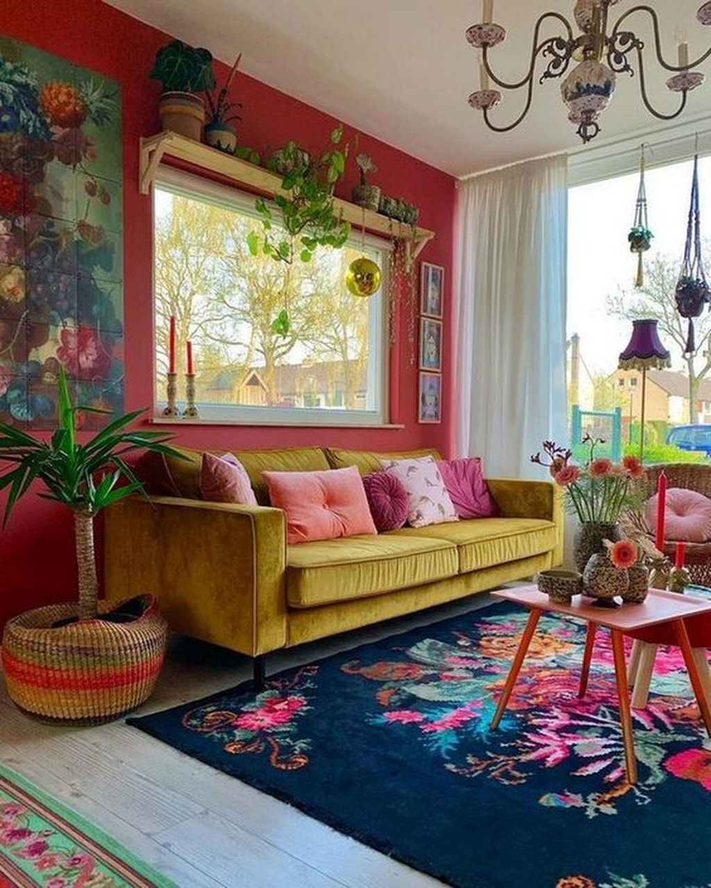 Lovely Colorful Living Room Ideas 18