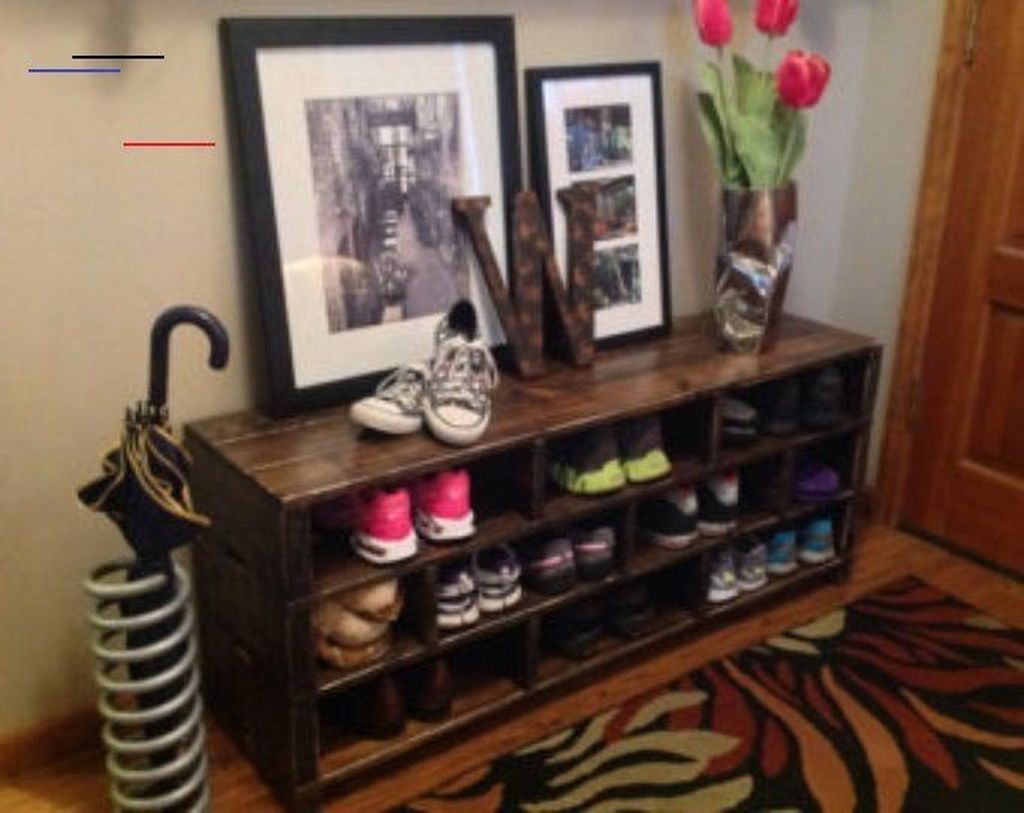 Nice Industrial Shoe Rack Design Ideas 10