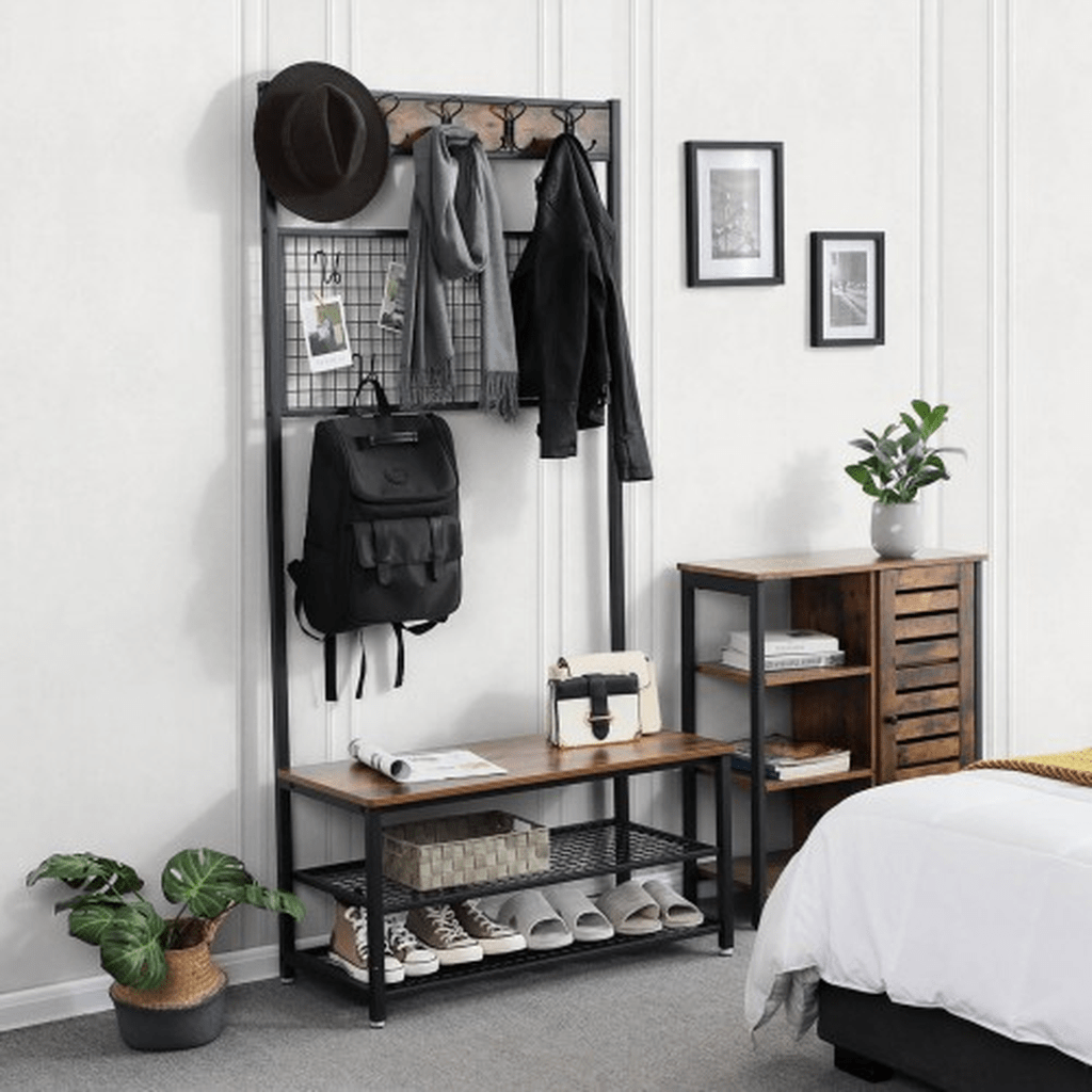 Nice Industrial Shoe Rack Design Ideas 11