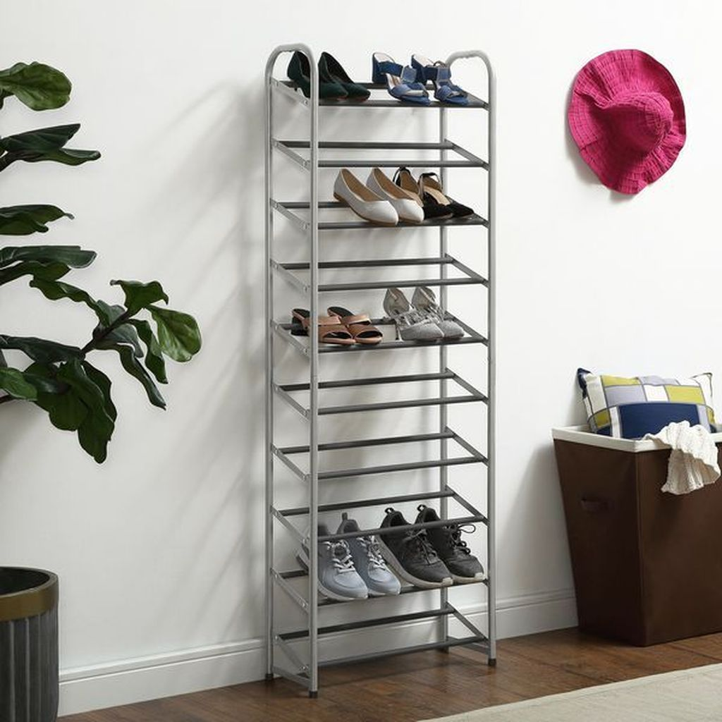 Nice Industrial Shoe Rack Design Ideas 20