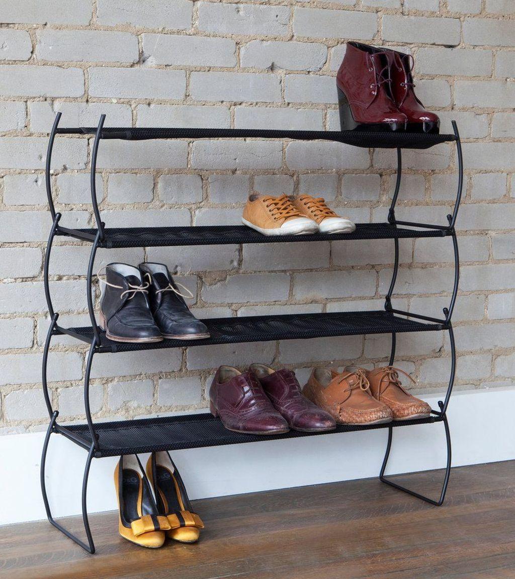 Nice Industrial Shoe Rack Design Ideas 29