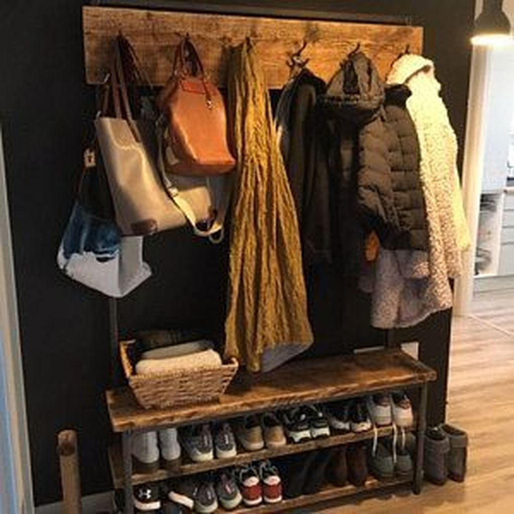 Nice Industrial Shoe Rack Design Ideas 31