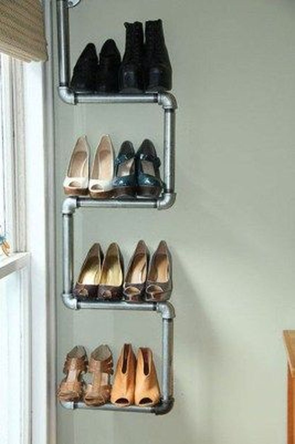 Nice Industrial Shoe Rack Design Ideas 32
