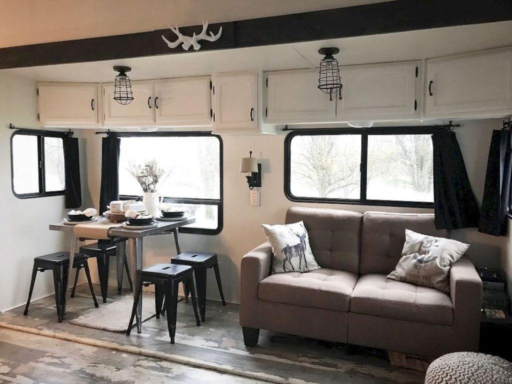 Nice RV Camper Remodel Ideas 01
