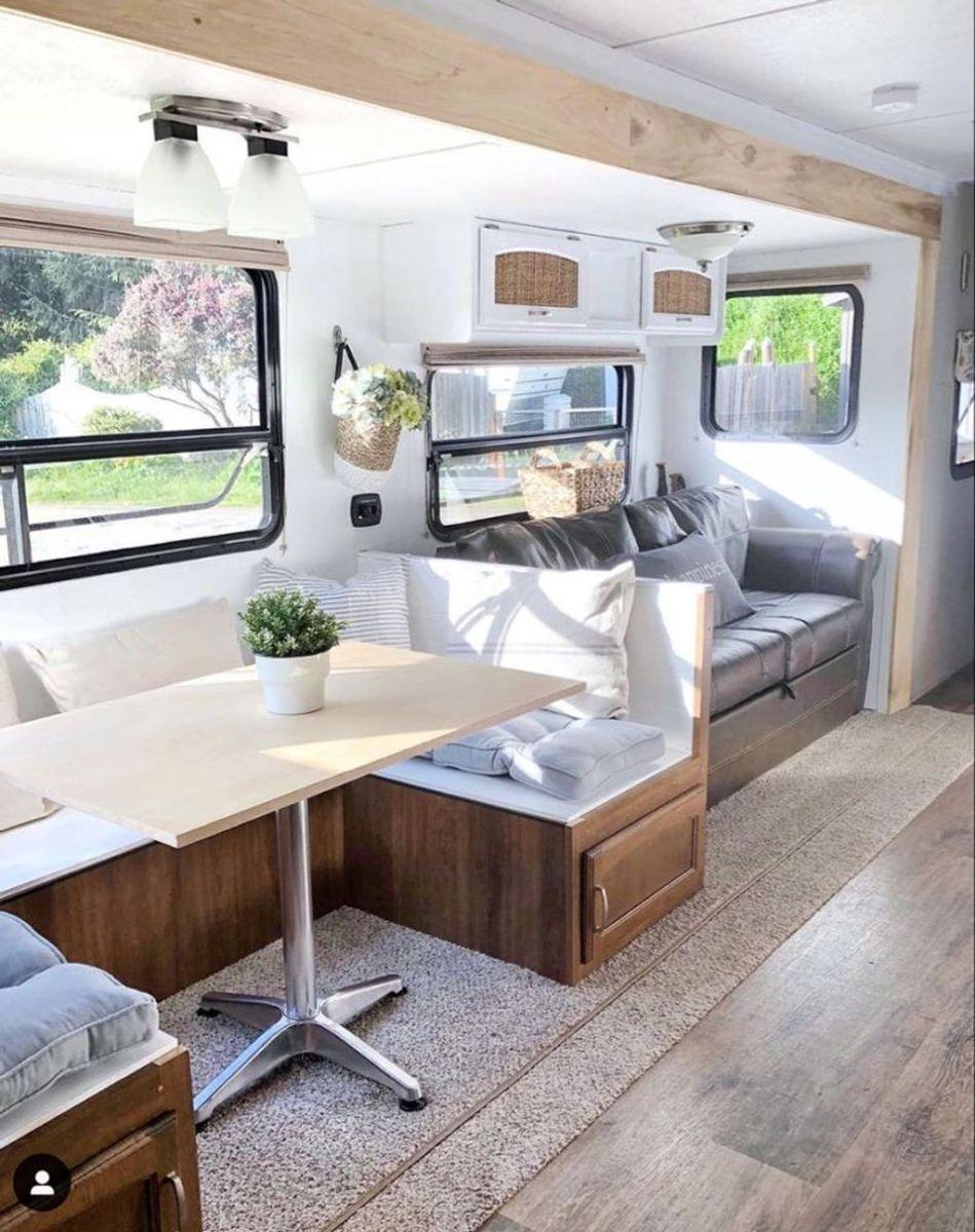 Nice RV Camper Remodel Ideas 02