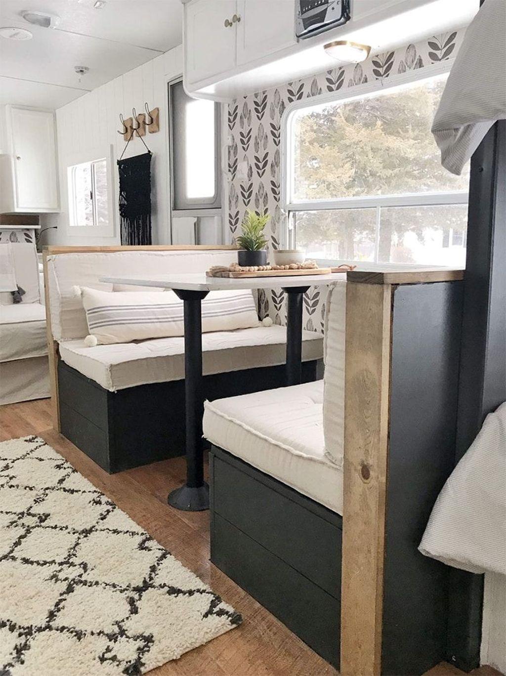 Nice RV Camper Remodel Ideas 14