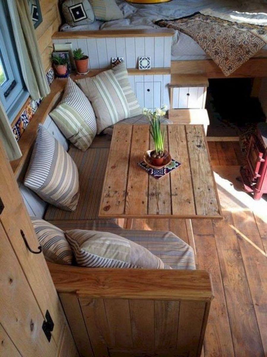 Nice RV Camper Remodel Ideas 18