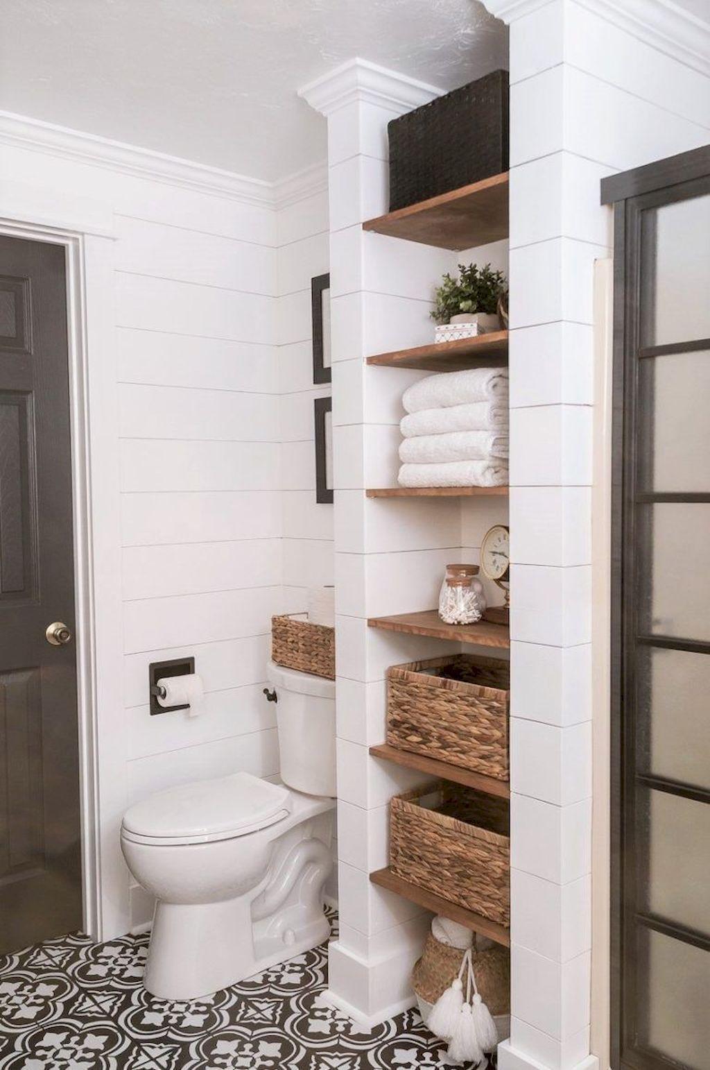 Stunning Bathroom Storage Design Ideas 01