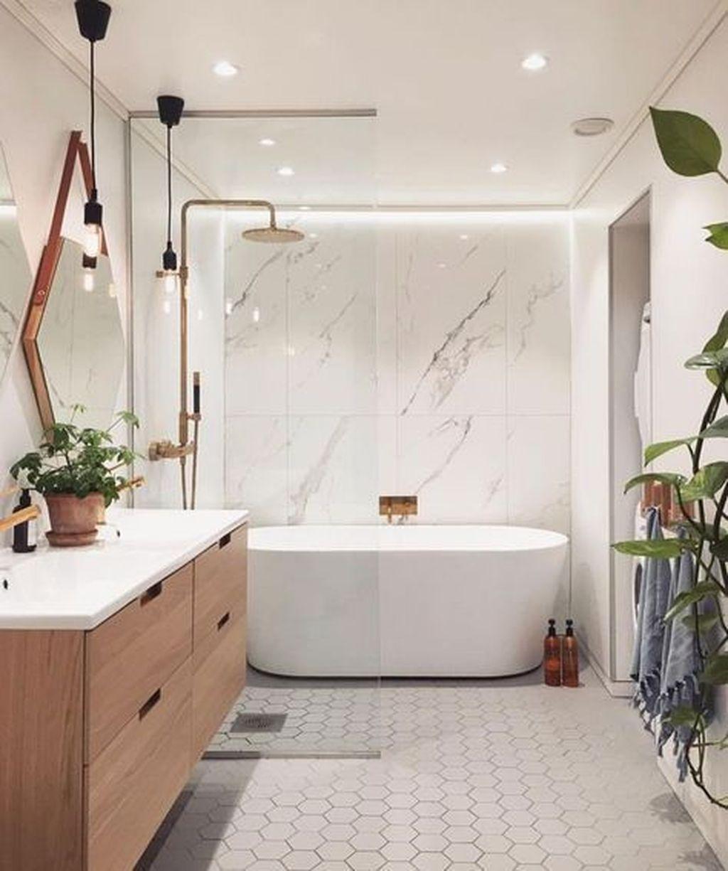 Stunning Bathroom Storage Design Ideas 14