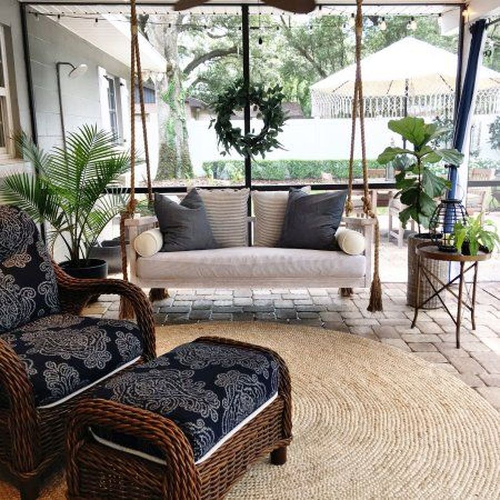 Stunning Rustic Patio Decorating Ideas 07