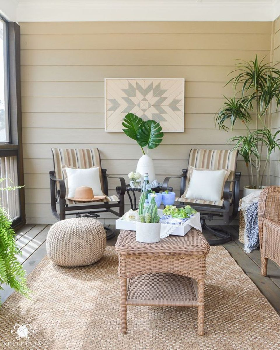 Stunning Rustic Patio Decorating Ideas 18