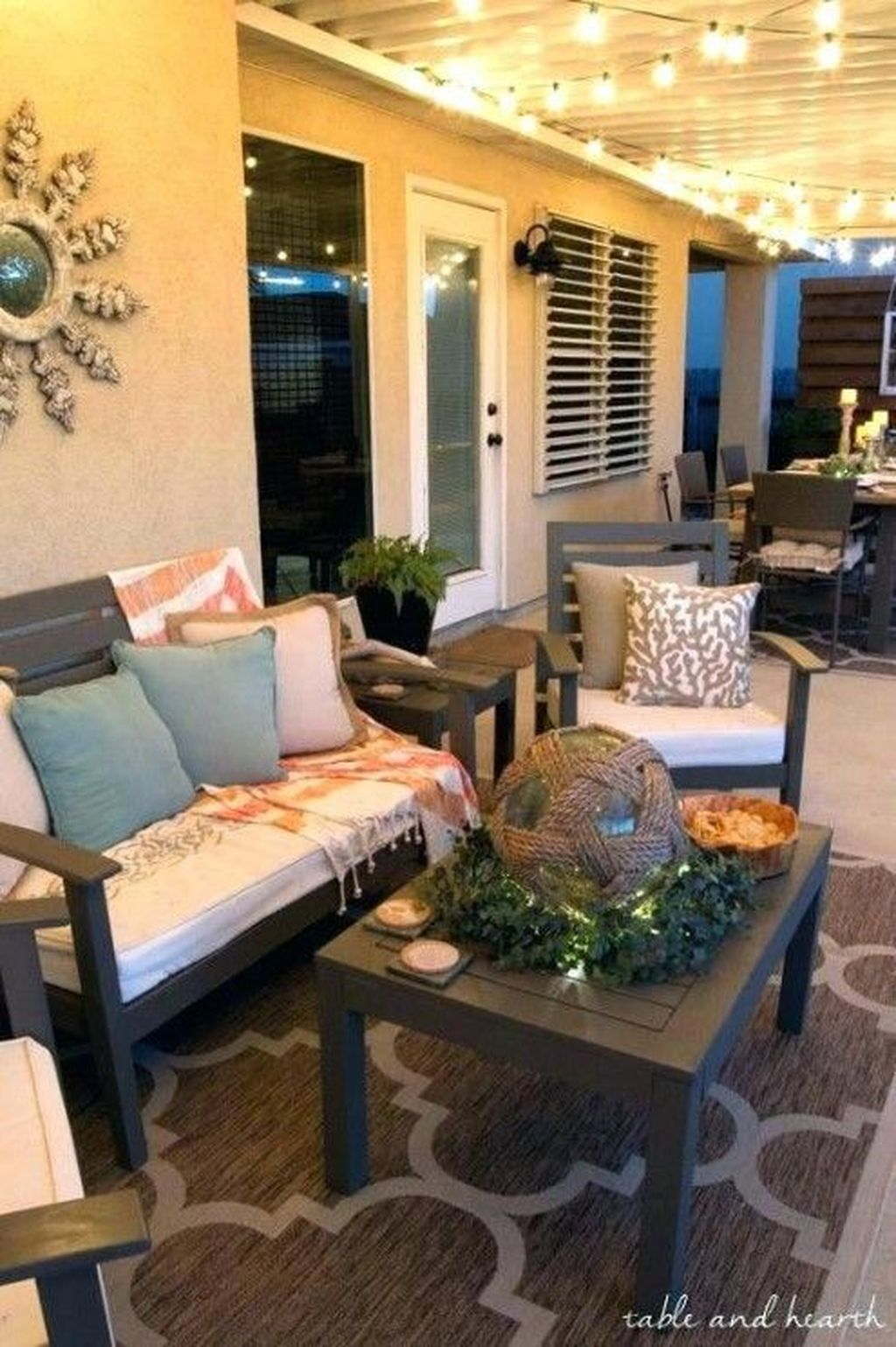 Stunning Rustic Patio Decorating Ideas 33
