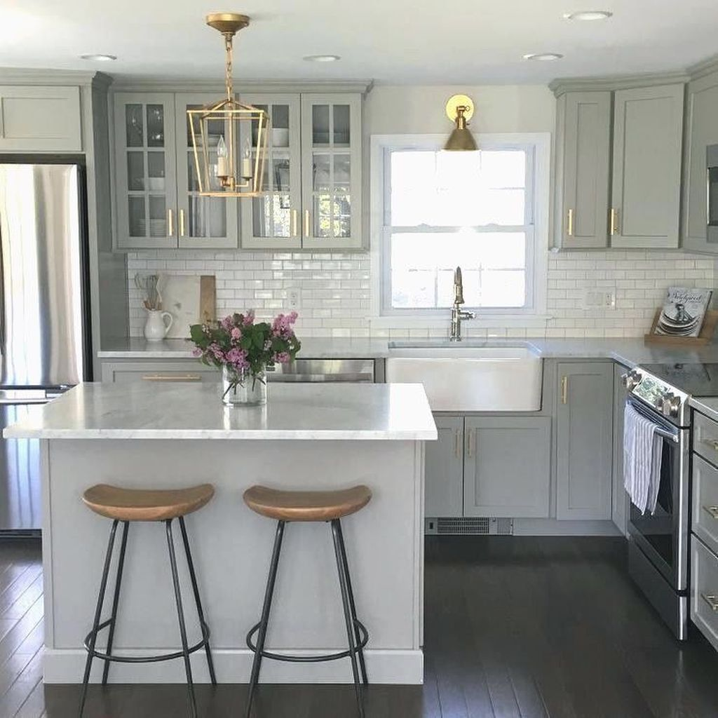 32 the best small kitchen design ideas homyhomee on 91 Comfortable Kitchen Design Tips 2020 id=27988