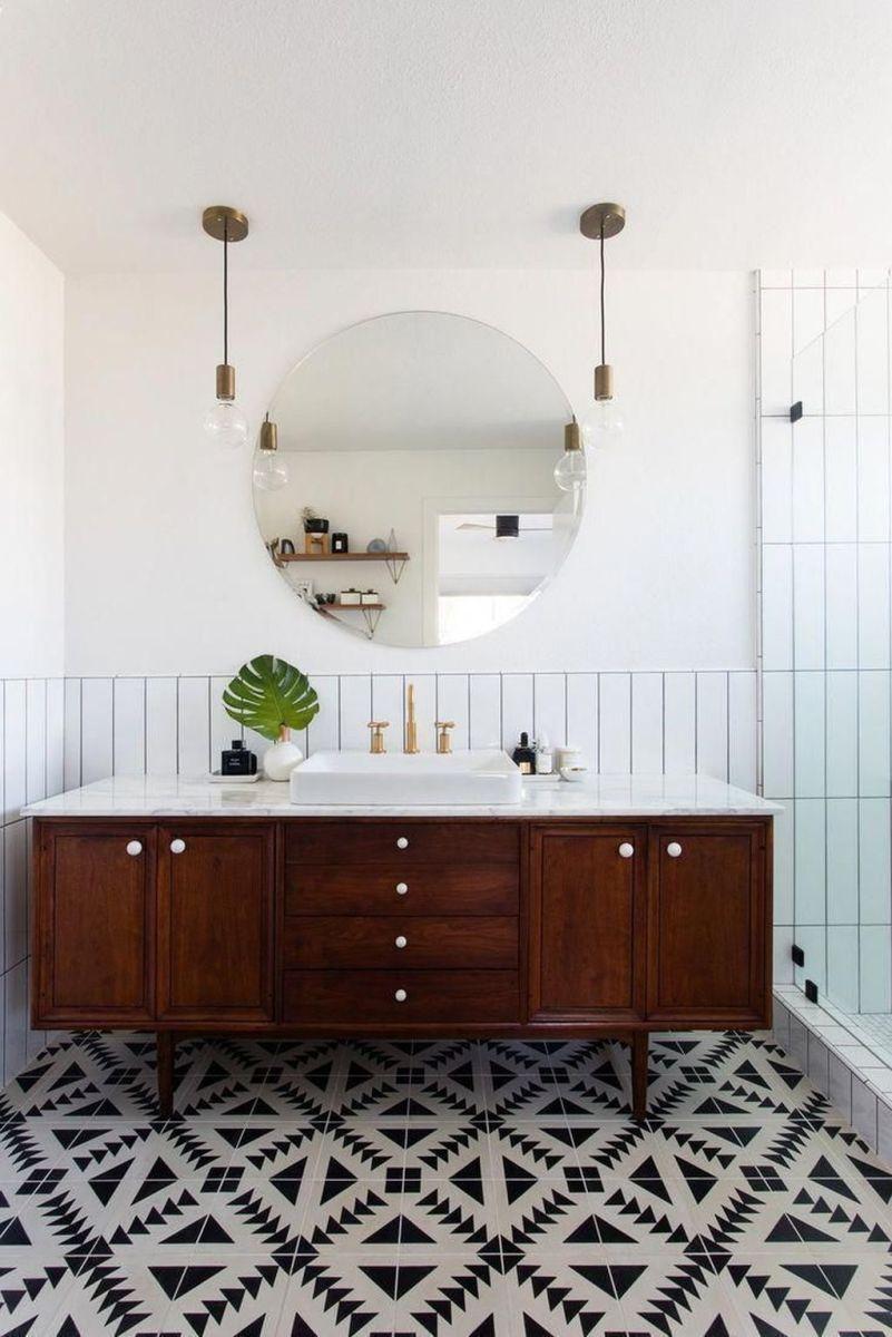 Admirable Rustic Modern Bathroom Design And Decor Ideas 05