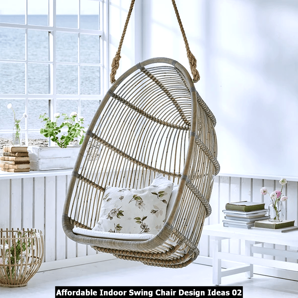 Affordable Indoor Swing Chair Design Ideas 02
