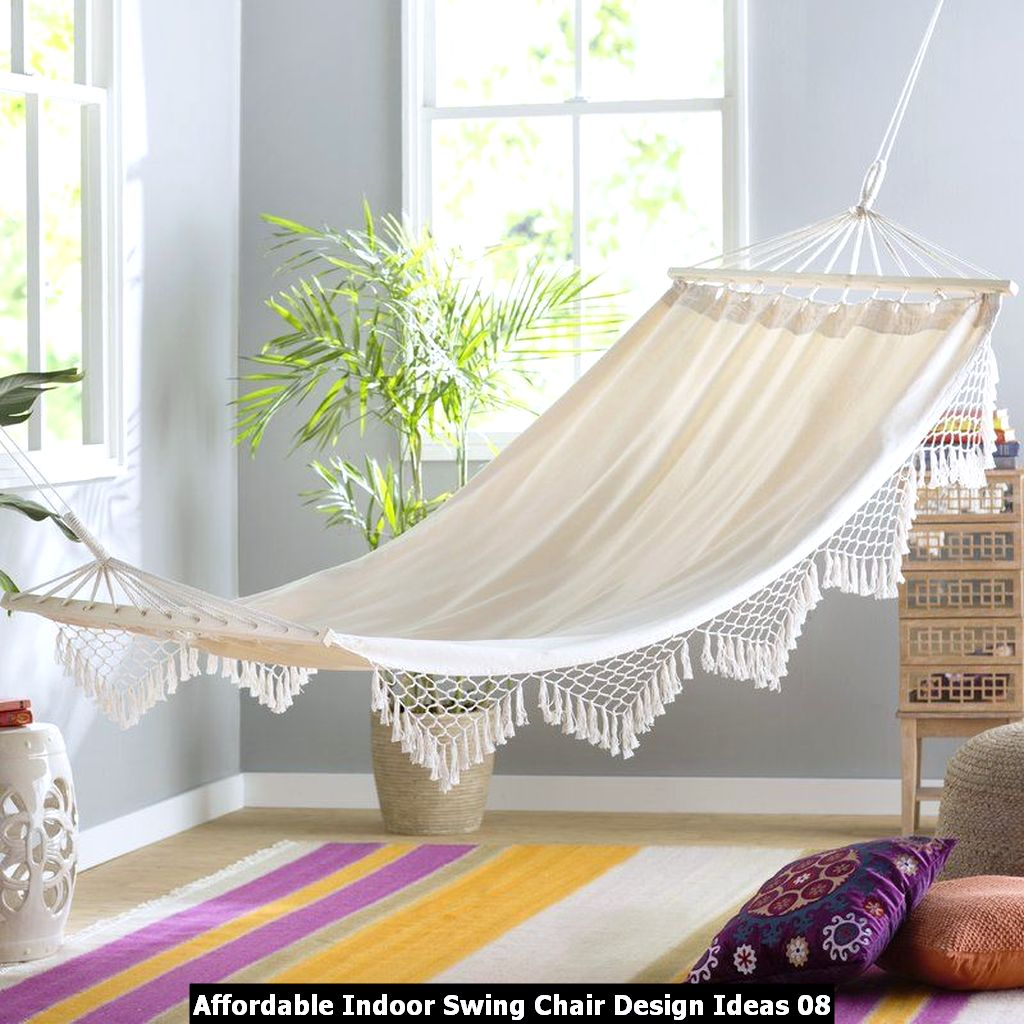 Affordable Indoor Swing Chair Design Ideas 08