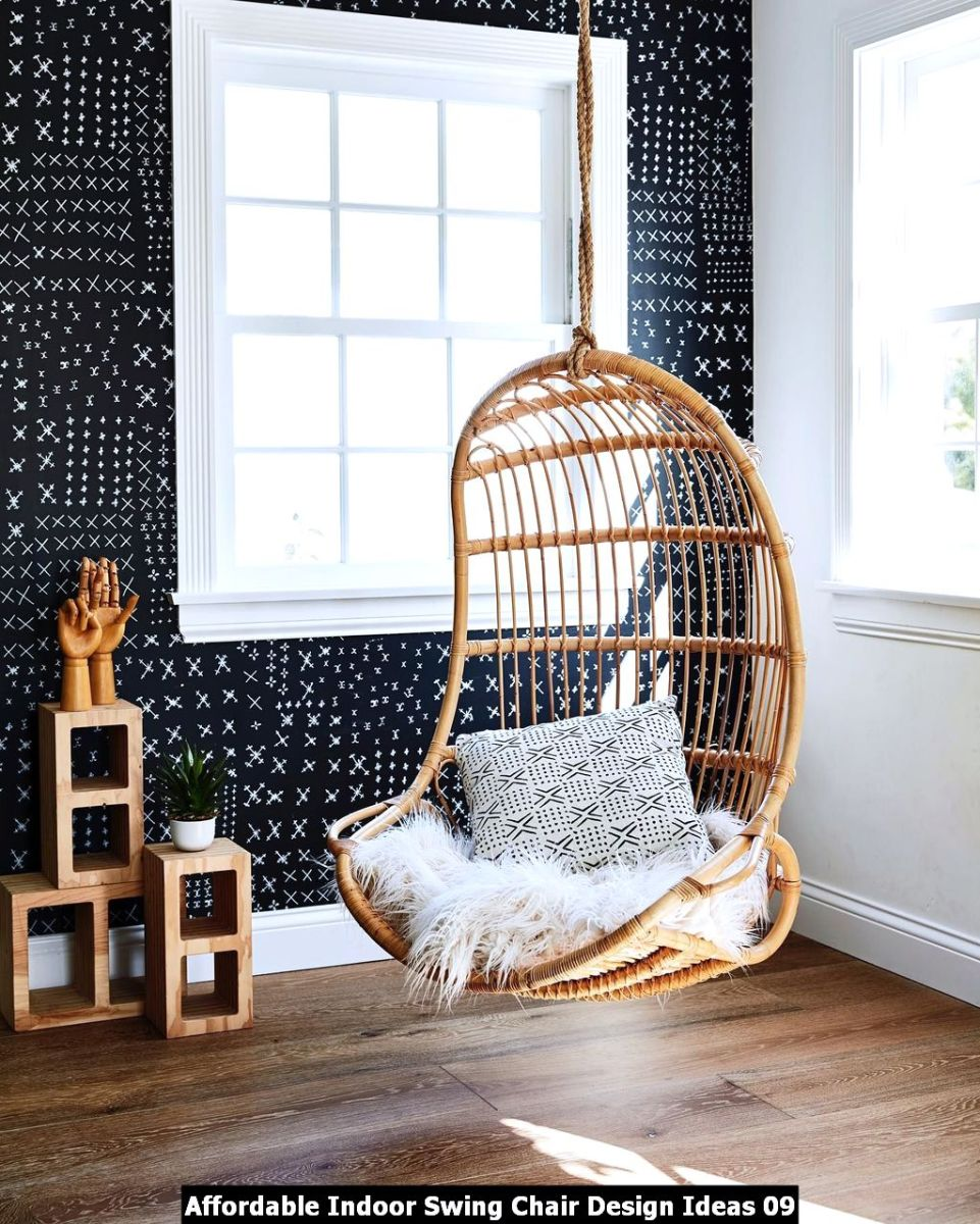 Affordable Indoor Swing Chair Design Ideas 09