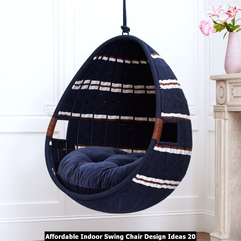 Affordable Indoor Swing Chair Design Ideas 20