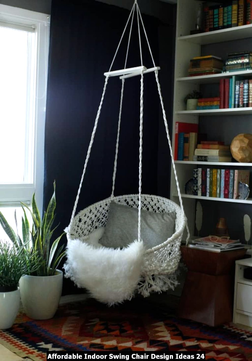 Affordable Indoor Swing Chair Design Ideas 24