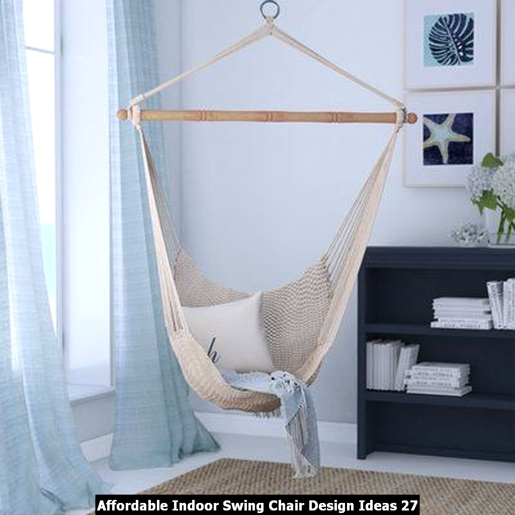 Affordable Indoor Swing Chair Design Ideas 27