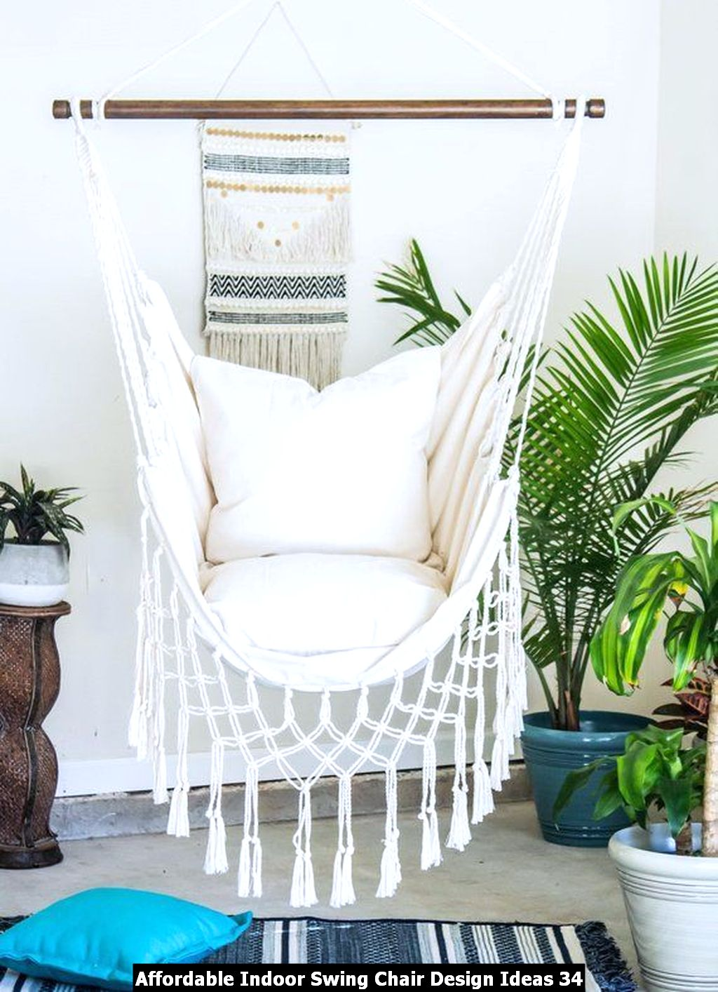 Affordable Indoor Swing Chair Design Ideas 34