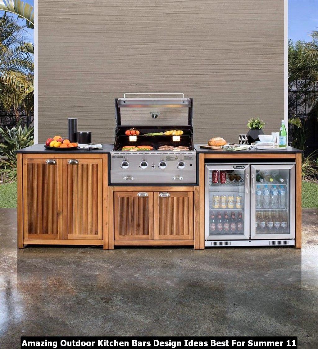 Amazing Outdoor Kitchen Bars Design Ideas Best For Summer 11