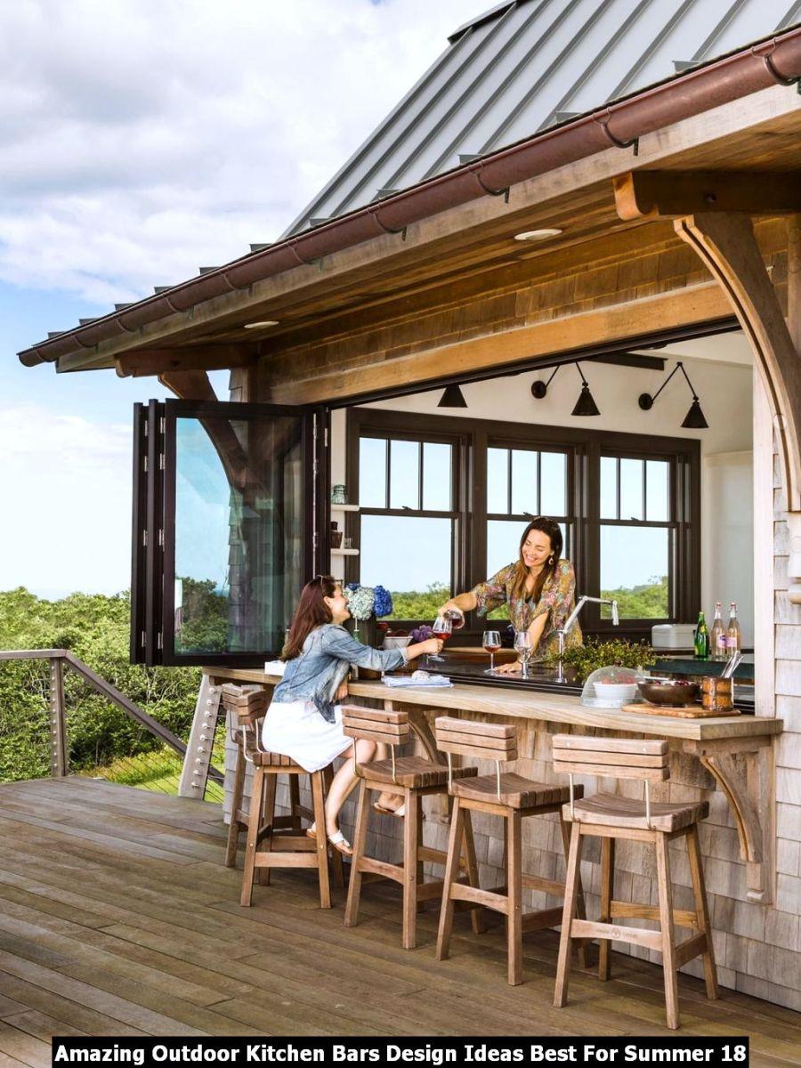 Amazing Outdoor Kitchen Bars Design Ideas Best For Summer 18