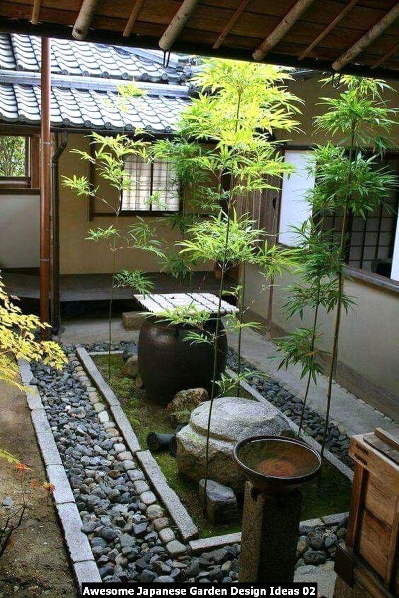 Awesome Japanese Garden Design Ideas 02