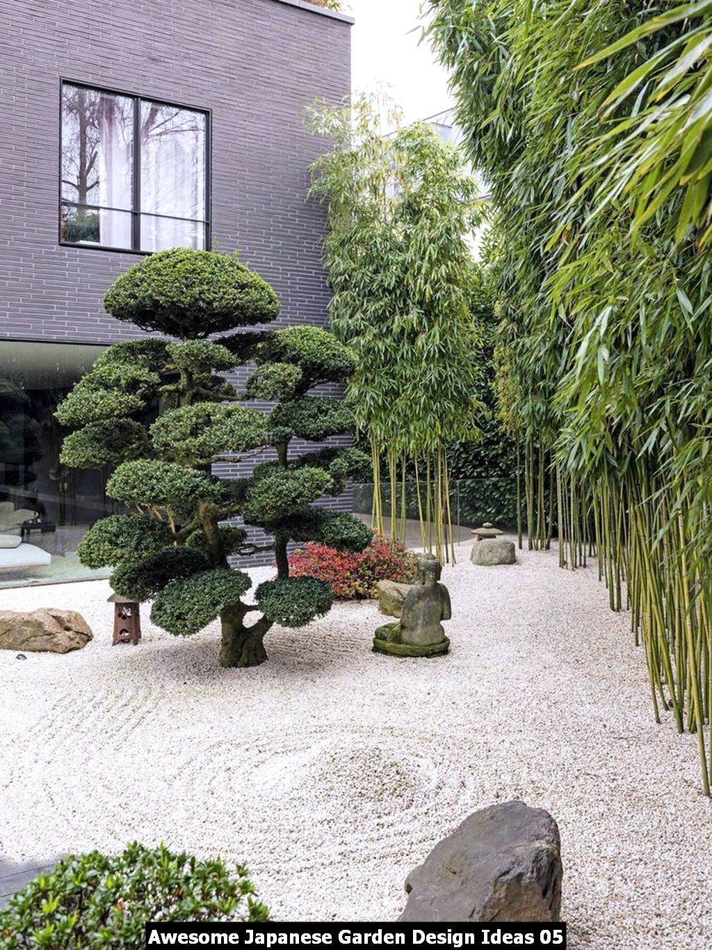 Awesome Japanese Garden Design Ideas 05
