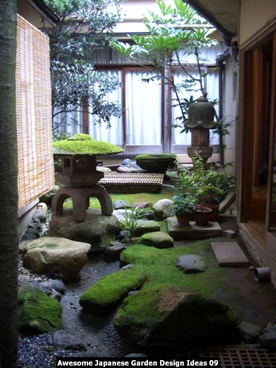 Awesome Japanese Garden Design Ideas 09
