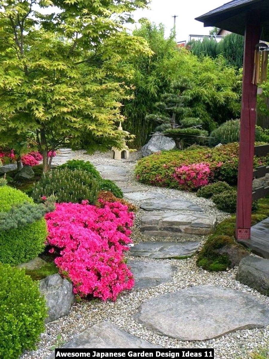 Awesome Japanese Garden Design Ideas 11