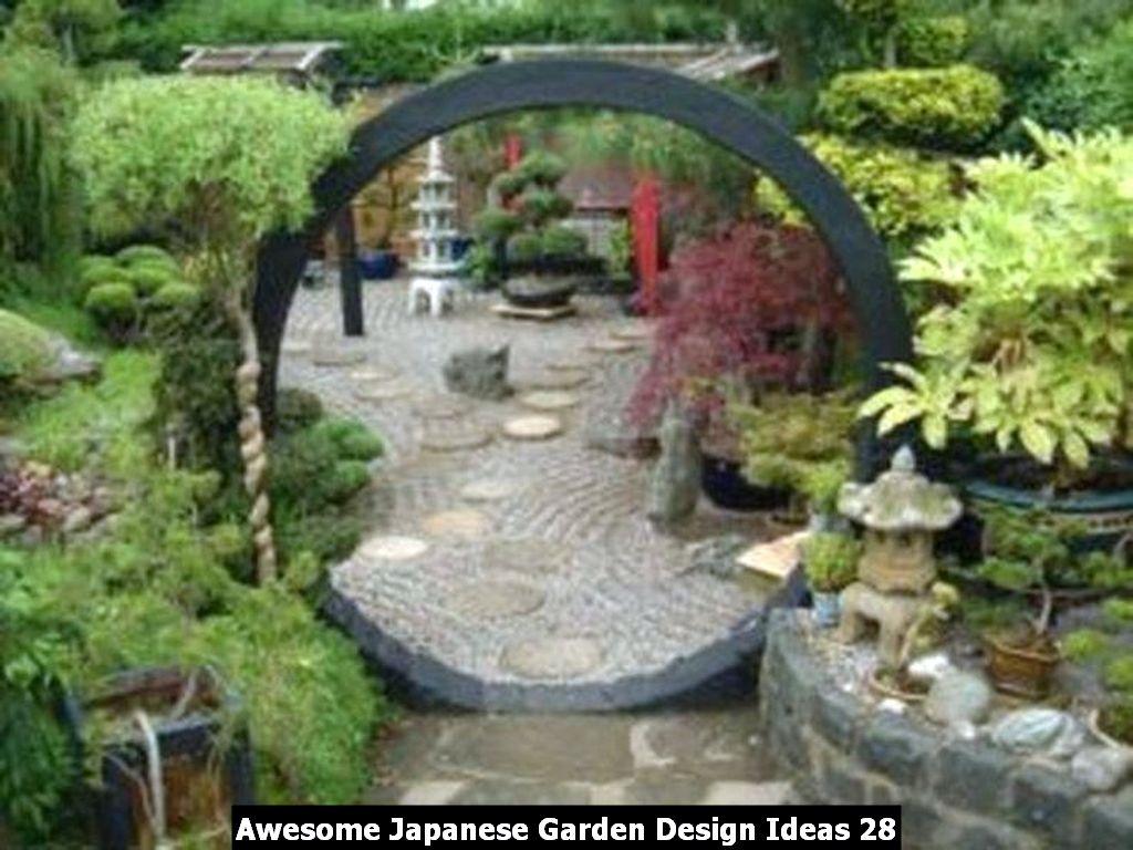 Awesome Japanese Garden Design Ideas 28