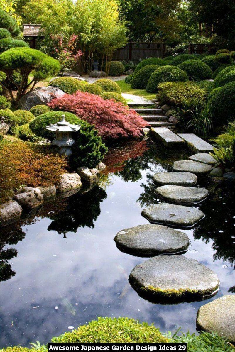 Awesome Japanese Garden Design Ideas 29