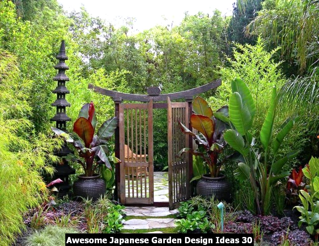 Awesome Japanese Garden Design Ideas 30