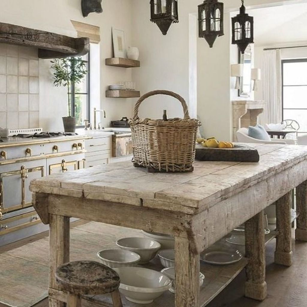 Awesome Rustic Kitchen Design Ideas 06